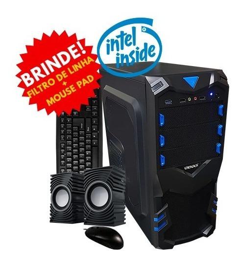 Pc Montado - Intel Celeron 3.1ghz / 4gb / Ssd 120gb