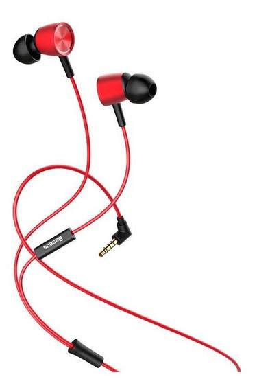 Fone Ouvido Com Fio Baseus Encok H07 (nf + Garantia)