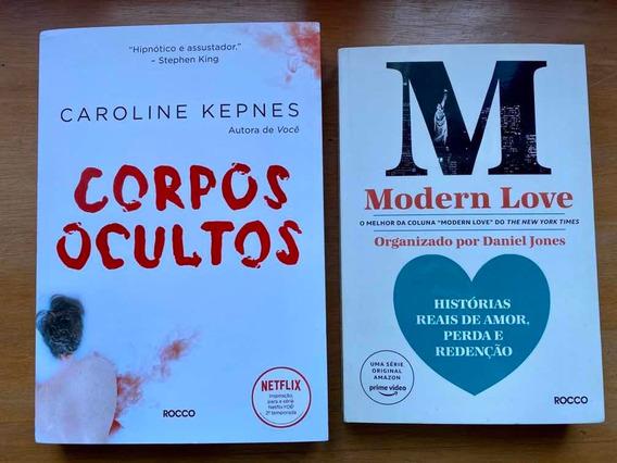 Livro Corpos Ocultos E Modern Love Editora Rocco