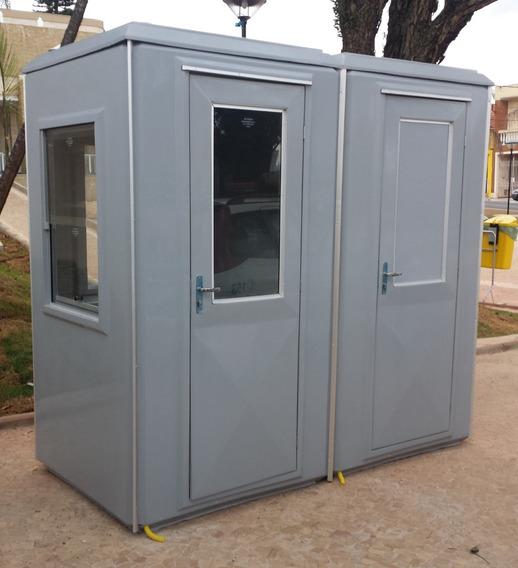 Guaritas Dupla Com Banheiro Em Fibra - Fábrica Cotia Sp