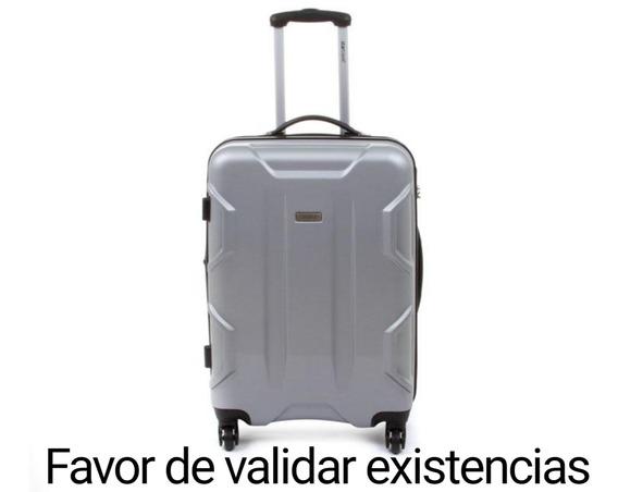 Maleta Vertical Startravel 24 Plateada