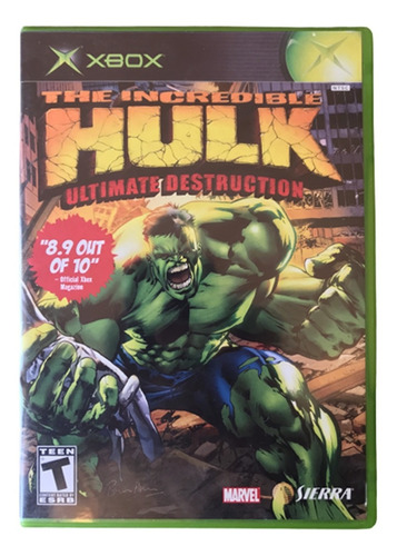The Incredible Hulk: Ultimate Destruction Xbox Classico/ 360