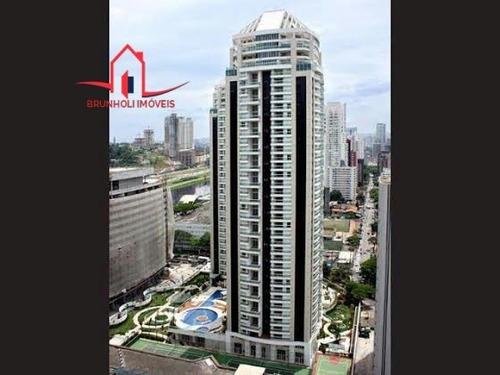 Apartamento Para Alugar No Bairro Brooklin Em São Paulo - - 977-2