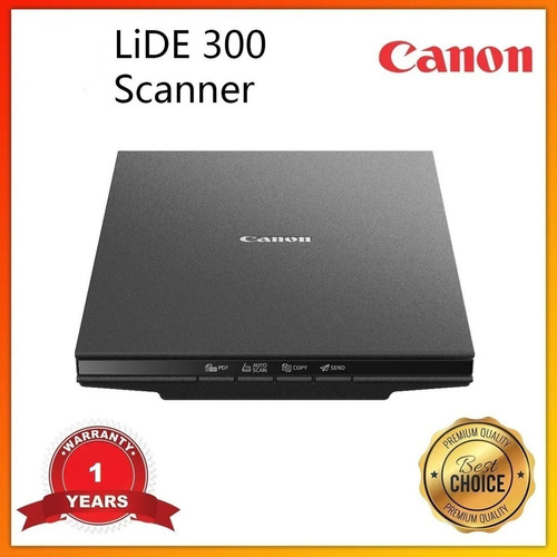 Scanner De Mesa Lide 300 Canon Colorido Documento Nota
