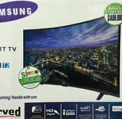 Imagen 1 de 2 de Clon Smart Tv 32 Pulgadas Curvo 4k