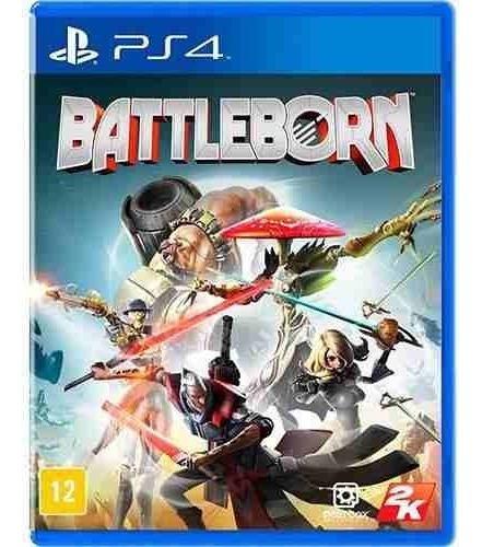 Battleborn - Ps4 - Midia Física Jogo Lacrado
