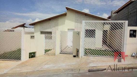Casa Nova Térrea 3 Dorms. Residencial À Venda, Campos Olivotti, Extrema. - Ca0749