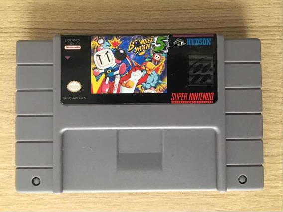 Super Bomberman 5 Salvando