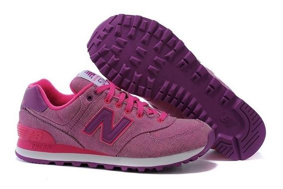 Zapatillas Mujer New Balance 574 Envio Gratis 6 Cuotas