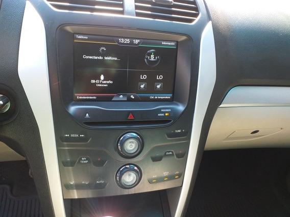 Ford Explorer 4.0 Xlt V6 3er Asiento Sync 4x2 Mt 2014