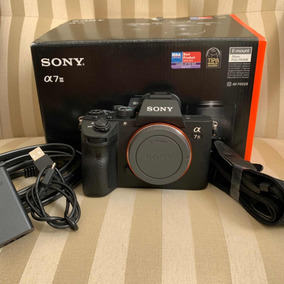 Sony A7iii - Corpo