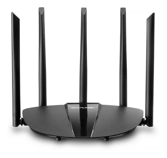 Roteador Gamer Wireless Gigabit Ac 1200 5 Antenas Dual Band