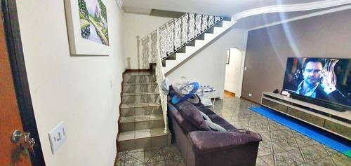 Imagem 1 de 11 de Sobrado Com 3 Dormitórios À Venda, 190 M² Por R$ 450.000,00 - Monte Castelo - São José Dos Campos/sp - So0616