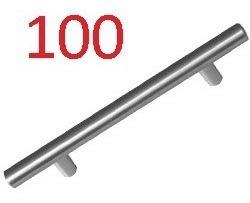 100 Jaladeras Hueca Inox Handy Home 15.4cm