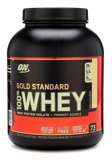 Proteina On 100% Whey Gold Standard 5 Lbs Vainilla