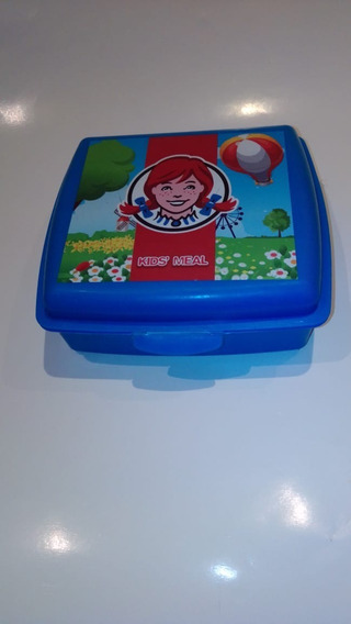 Lunchera Wendys Kids Meal 15x14cm Zona Caballito