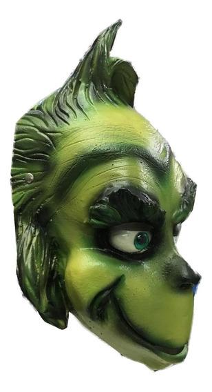 Mascara Latex El Grinch Pelicula Hallooween Disfraz