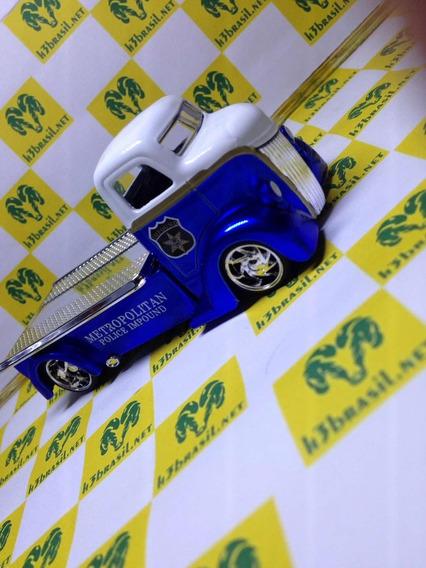 Bx419 Jada Loose D Rods 47 Ford Coe Truck Plataforma Policia