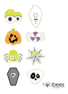 Cortador Galleta Halloween Fantasma Calabaza Decora Plantill