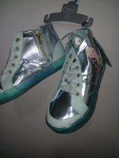 Tenis Frozen Disney Store, Preciosos Zapatos Frozen Els