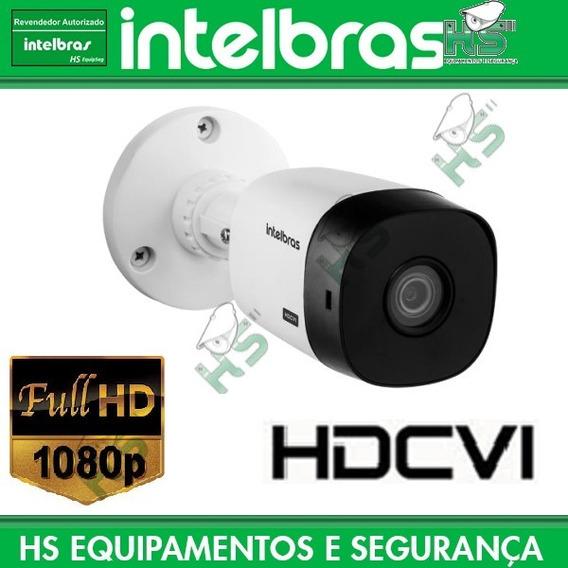 Câmera Hdcvi Vhl 1220b 1220 Full Hd 1080p 3,6mm 96° X 51° Abertura Ir 20m Menu Osd Agc Blc Baixo Custo Intelbras