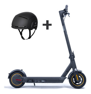 Combo Patineta Eléctrica Scooter Ninebot Segway Max + Casco