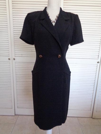 Vestido Maggy London Talla 10 Usa, Petite, Seminuevo
