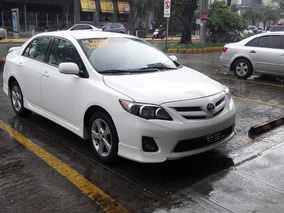 Toyota Corolla S 2013 Blanco Optimas Condiciones