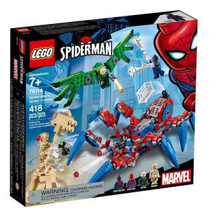 Lego® Super Heroes - Araña Reptadora De Spider-man (76114)