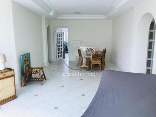 Apartamento Com 3 Dormitórios À Venda, 147 M² Por R$ 850.000,00 - Enseada - Guarujá/sp - Ap10325