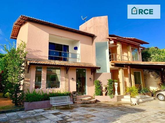 Casa Com 3 Dormitórios À Venda, 250 M² Por R$ 499.000 - Nova Parnamirim - Parnamirim/rn - Ca0138