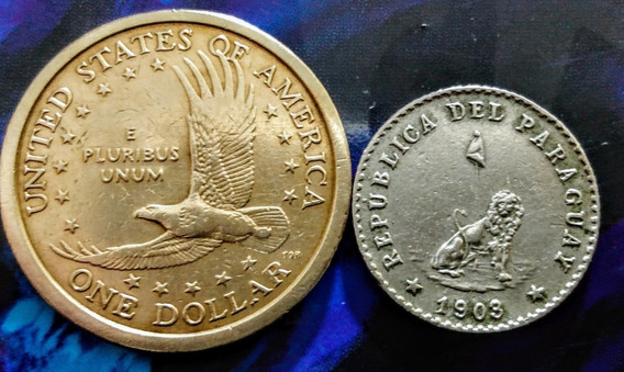 Monedas De América 7 Usa-paraguay Y Otros Países
