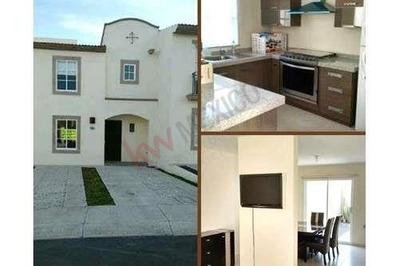 ¡¡ Casa En Renta En Querétaro, Frac. Residencial Del Refugio !!