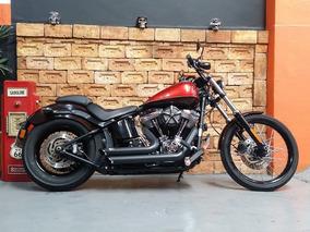 Harley Davidson Softail Black Line 2013