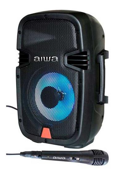 Corneta Bluetooth Aiwa Microfono Negro Somos Tienda Fisica