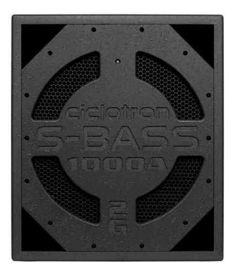 Caixa Ciclotron Ativa S-bass La 1000a Sub