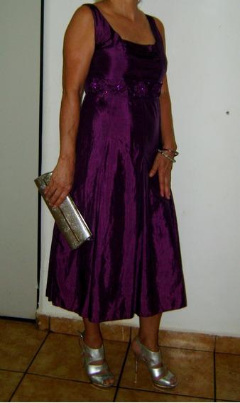 Vestido De Festa Curto Usado Barato Tamanho M Helenice Rici