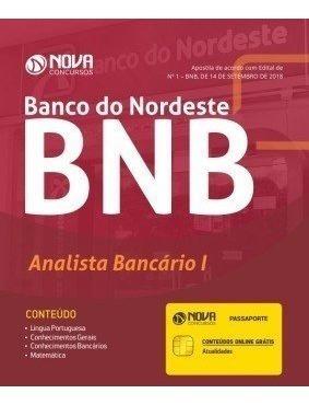 Apostila Banco Do Nordeste 2018 - Analista Bancário