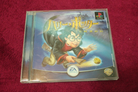 Harry Potter Original Black Label Cib Playstation Ps1 Psx