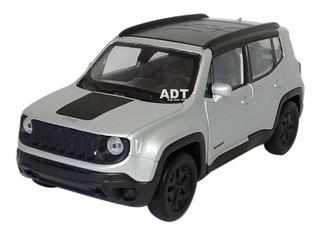 Carrinho De Ferro Miniatura Jeep Renegade Coleçao Carro Moto