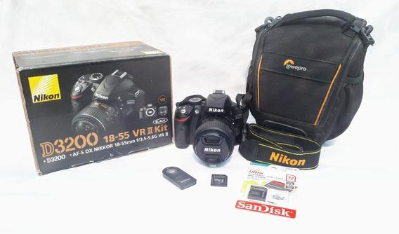 Cámara Nikon 3200