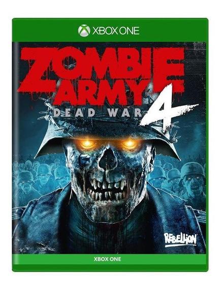 Zombie Army 4 Dead War Day One Edition Xbox One Mídia Física