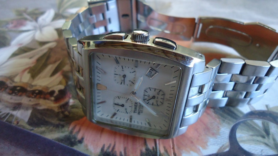 Relógio Timex Indiglo Wr 50m Chronograph Esporte Luxo