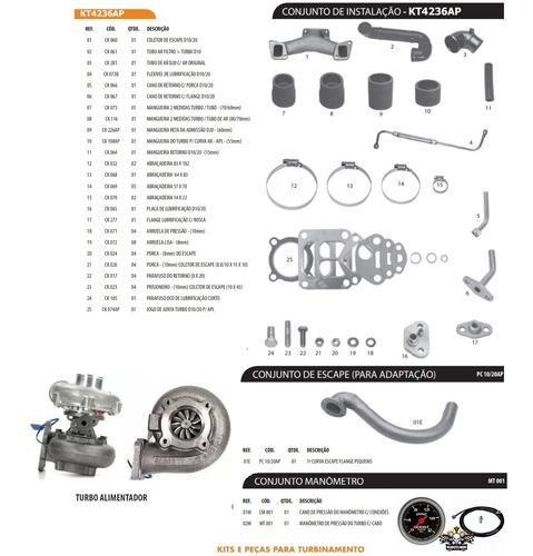 Kit Turbo Garret D10 D20 Veraneio Bonanza Perkins 4236