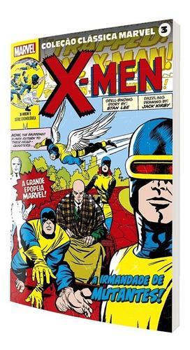 Hq Coleção Clássica Marvel Vol.03 - X-men Vol.01 - Panini