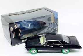 1967 Chevy Impala Supernatural 1/24 Diecast Greenlight 840