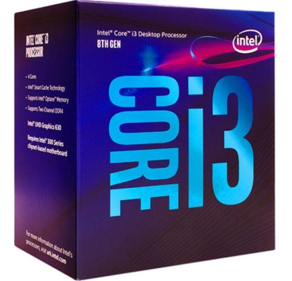 Processador Intel I3-8100 3.6ghz 6mb Cache Lga1151 8g