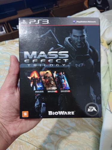 Mass Effect Trilogy Ps3 Semi Novo, Zerado