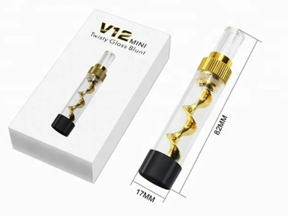 Repuesto Twisty Glass Blunt V12 Mini