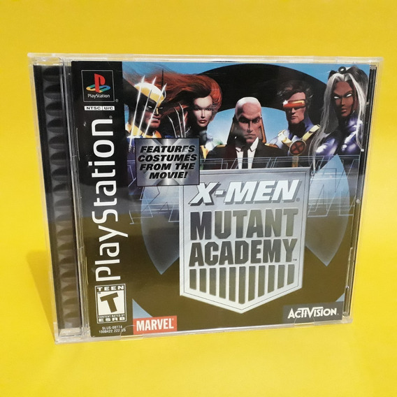Jogo X-men Mutant Academy Ps1 Americano Original Aproveite!